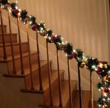 Xmas Garland Stairs Christmas Fun Facts