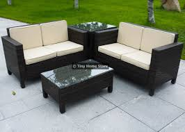 Luxury Rattan Sofa Dining Set Garden Furniture Patio Conservatory