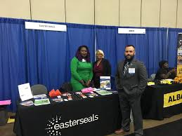 """Easterseals DC MD VA on Twitter: """"Timothy Kirkendall, Jr., Vera Damanka,  and Bessie Griffith from Easterseals Disability Staffing Network (EDSN) and  Homeless Veteran Reintegration Programs (HVRP) were proud to attend the  #WorkBaltimore"""