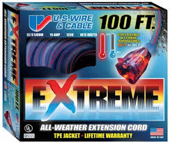 Extension Cord Size Chart