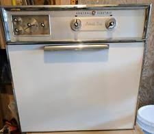 vintage electric stove vintage ge electric in wall oven and stove top combo white working condition