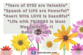 Wonderful Good Morning Quotes Best of Good Morning Quotes Static Quotes