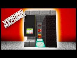 Vending Machine Minecraft Beauteous Minecraft How To Make A Vending Machine PlayItHub Largest Videos Hub