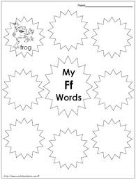 Consonants, vowels, diphthongs, blends, syllables, digraphs, trigraphs, ending sounds, silent e, and advanced. My Ff Words Worksheets