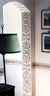 door frame painting ideas.  Ideas Beautiful Filigree Lookinterior Door Frame Stencil Or Paint And Door Frame Painting Ideas R