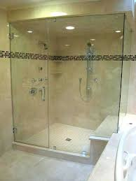 custom glass shower enclosure cost how much does a custom