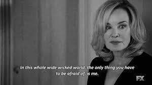 Ahs Quotes Awesome Scary Gif American Horror Story Quote Black And White Quotes AHS