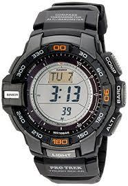 casio men s prg 270 pro trek triple sensor multifunction digital multifunction digital sport watch casio mens prg 270 1 protrek triple sensor