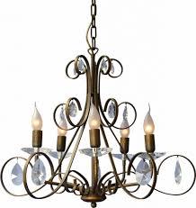 Lampe Braun Klassischer Pendelleuchte Kronleuchter Neu