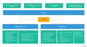 A Organizational Chart Showing Organizational Chart Of Lg
