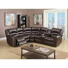 brown leather sectional sofas. Interesting Brown Bonded Leather 3 Piece Reclining Sectional Brown To Sectional Sofas D
