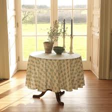small round table cloths