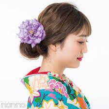 成人式の髪型で差をつけたいロングさん花盛りシニヨンで写真映え確実