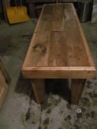 rustic pallet furniture. Recycled Pallet Bench Rustic Furniture