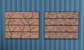 Upcycled Wall Art Mod The Sims Upcycled Pallet Wall Art