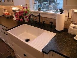 36 aulani italian fireclay farmhouse sink with drainboard transitional kitchen sinks cincinnati