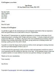 engineering cover letters civil engineer cover letter example work pinterest cover