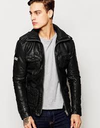 Superdry+Brad+Leather+Jacket | Arun's jackets | Pinterest ... & Shop Superdry Brad Leather Jacket at ASOS. Adamdwight.com