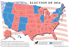 2016 Presidential Election Results Chart United States Presidential Election Of 2016 United States