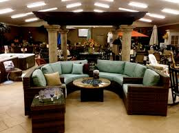 outdoor patio furniture showroom
