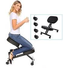 ergonomic chair kneeling. Interesting Ergonomic New Ergonomic Adjustable Chairs Kneeling ChairPerfect Posture Stool For  Home And Chair A