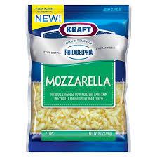 kraft shredded cheese ingredients.  Cheese Kraft Shredded U2013 Mozzarella Cheese In Ingredients D