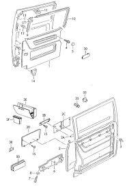 Images of vw bus sliding door parts