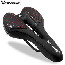 <b>Shock Absorbing Hollow</b> Bicycle Saddle Anti skid GEL PU Extra Soft ...