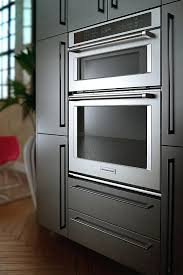 kitchenaid wall oven review single electric convection wall oven with built in microwave silver best