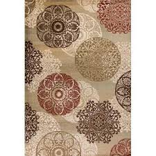 top wayfair carpets and rugs of found it at wayfair winterberry beige brown red area rug