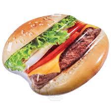 <b>Надувной матрас</b>-плот Бургер <b>135</b>*127 см купить в Москве по ...