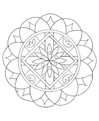 Mandalas bring relaxation and comfort to adults all over the world. Mandalas For Kids Coloring Rocks