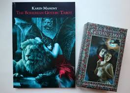 Goth Light Novel The Bohemian Gothic Tarot Deck Review Larch Tarot