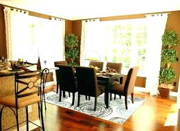 what size rug under dining table rug under round dining table as well as best size