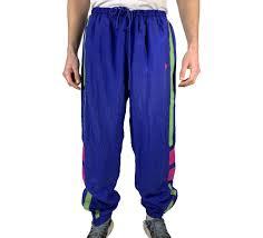 Designer Pants Vintage Sportswear 80s 90s Designer Track Pants