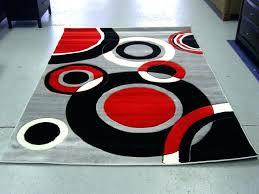 red black grey rug fetching rug design with pleasing red black white color design idea at red black grey rug
