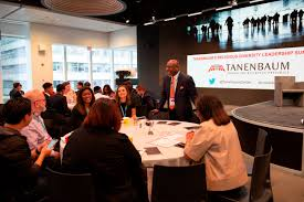 Tanenbaum Deputy Ceo Mark Fowler With Disney Table 2