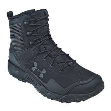 under armour work boots. under armour boots: 1257847 001 tactical side zip rts valsetz men\u0027s black boots work ,