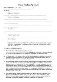 Depending on the loan that was selected a legal contract will need to be drafted stating the terms of the the following example shows how to write and complete our free loan agreement template. 38 Free Loan Agreement Templates Forms Word Pdf