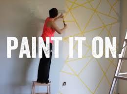 geometric wall paintDIY Geometric Wall Paint Effect  Plascon Trends