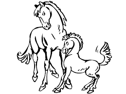 horse coloring pages free coloring pages 34