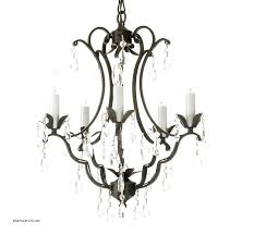 wrought iron candle chandelier metal old with heavenly non electric