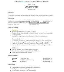 Sample Caregiver Resume No Experience Best of Resume Of A Caregiver Best Caregiver Resume No Experience Esdcubaco