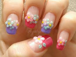 3d flower nail art - how you can do it at home. Pictures designs ...