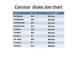 Carozoo Size Chart Carozoo Ladybug Flower Pink 3 4y Schuhe Handtaschen