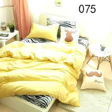full size of twin full queen king yellow zebra cotton 4pcs bedding sets bed duvet cover