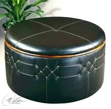 round leather ottoman coffee table small ottoman coffee table round leather storage ottoman coffee table small