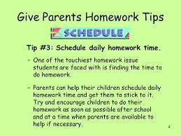Involving Parents in the Homework Process from Lee Canter     s     SlidePlayer