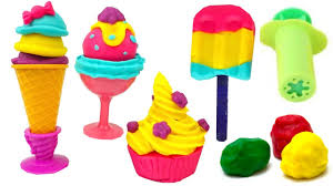 Пластилин для детей <b>учимся</b> лепить мороженое Игрушкин ТВ ...