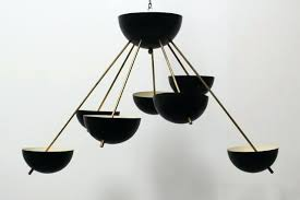 black sputnik chandelier mid century black sputnik chandelier by for at black and gold sputnik